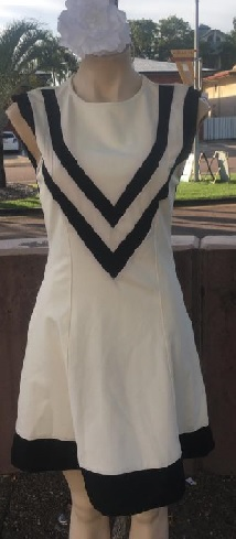 White Aline Dress  S8,10,12