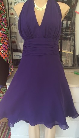 Floaty Halter Purple S16/18