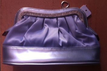 Silver / Gold Medium size evening bag
