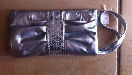 Silver / Gold Small evening bag