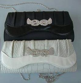 Bling Bags Black, Cream