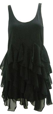 Black Frill Dress S8,10,12