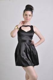 Black Heart Dress S10