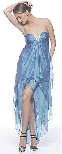 Blue Formal Dress S10