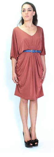 Brown Chic Dress S8,12