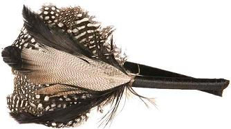 Headband Brown Feathers