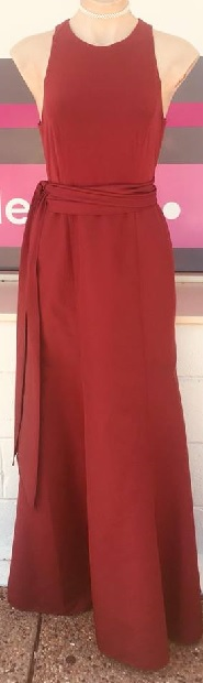 Burgandy Gown S10/12