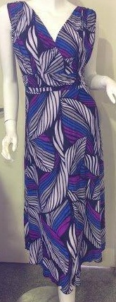 Jaz Purple Print Dress S12/14