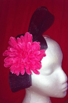 Frockme Pink and Navy Headband SOLD