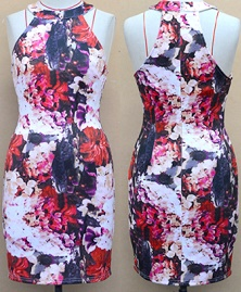 Floral bodycon S12