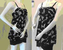 Gathered Cami Mini Dress Size 14