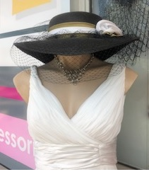Hat Black gold netting sold