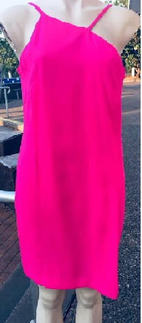 Off Centre Pink Dress S8,10