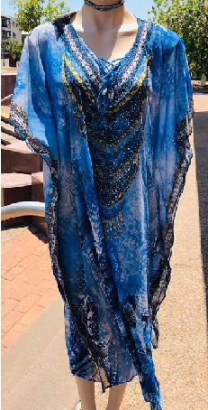 Kaftan Blue Bling S18-20, 22-24