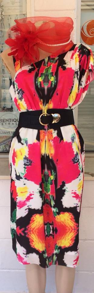 Colour Kaftan Dress  S14/16