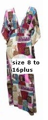 Print in Pinks Kaftan S8- now to size 20