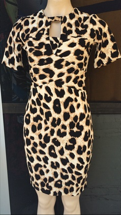 Animal Print bodycon S8,10,12