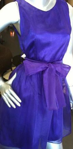 Purple Organza Dress S10,14