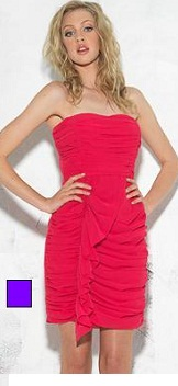 Love Affair Frill Strapless Purple Only S10,12,14