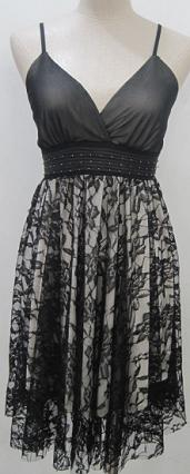 Lace Blk Dress S12