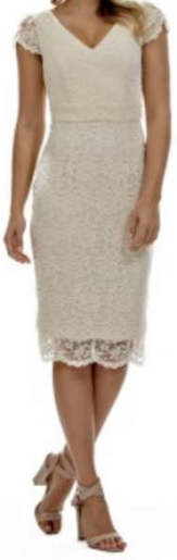 Cream Lace Dress S14