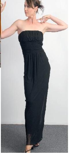Mesh Long Evening Dress Purple S10 Black S10