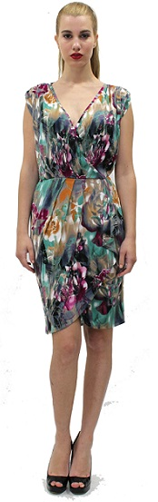 Julie Print Dress S10,14,18