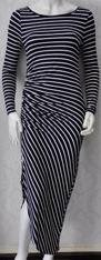 Navy Stripe Maxi S8,10,12/14