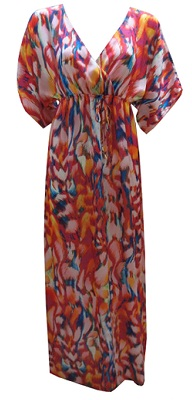 Kaftan Light Satin Maxi S8