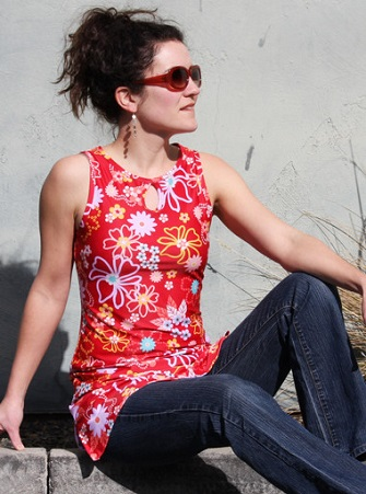 Running Dress w pocket Fruit Punch SOLD OUT