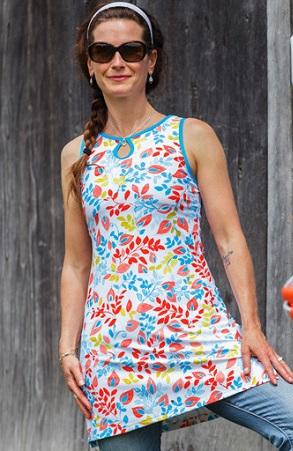 Running Dress  - White Print