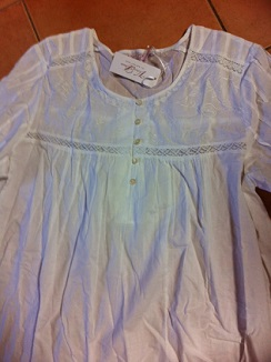 Nightwear 100% cotton S18/20 White