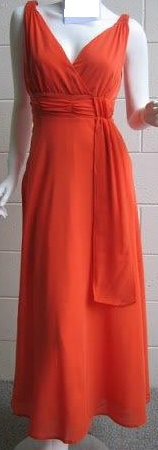 Chiffon Swing Dress Orange S10,12,14 Red S10,12,14 Purple 10,12,14