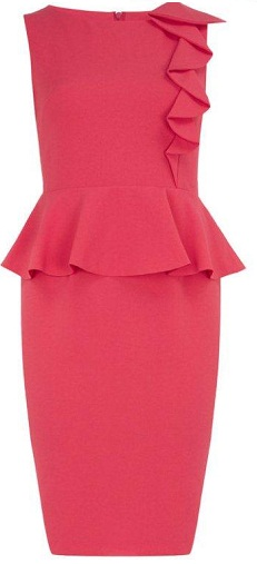 Peplum Coral/Pink S18/20