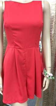 Playsuit Red S8