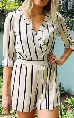 Striped Play suit S8,10,12,14,16