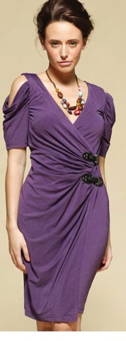 Purple Buckle Dress S12,14/16