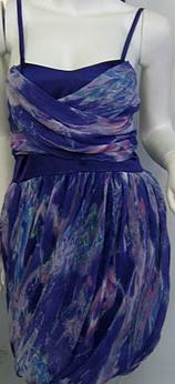Purple Race Dress S8,10
