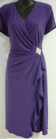 Purple Outing Dress  S12