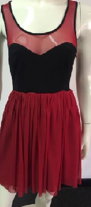 Molly Red Blk Dress S6,8,10,12