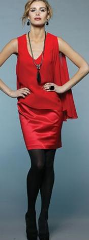 Red Cape Dress S8