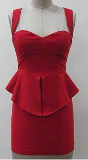 Party Red Dress S10