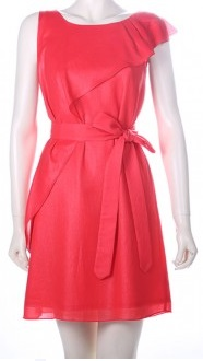 Red Frill Dress S12