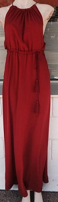 Corine Dress Red S10/12, 12/14