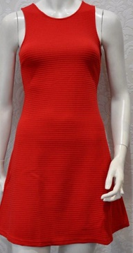Red Party Aline Dress S8,10,12