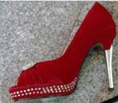 Red Bling Shoes S37,38