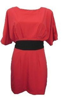 CoralRed Dress S8,10