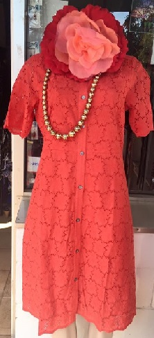 Shirt Dress 100% cotton Black S18, Coral s10,18 White S10,14