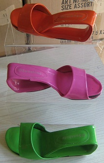 Trendy Slip ons Purple / Blue S37,38,39,40, 41