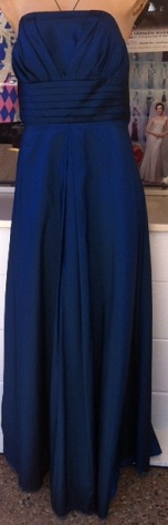 Tafetta Gown Navy S6,10,18 Red S16,18